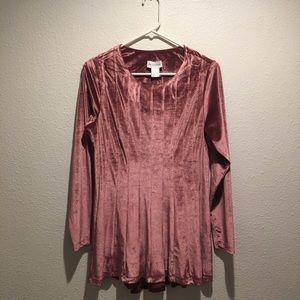 Soft surroundings a line blouse
